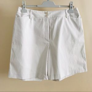 Charter Club Golf Collection Pumice White Shorts